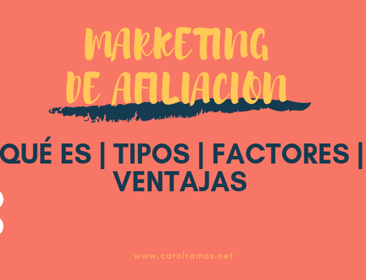 Marketing de Afiliación: Qué es | Tipos | Factores | Ventajas